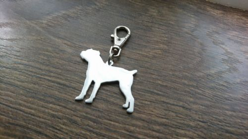 cane corso keyring 3.5cm handmade by saw piercing